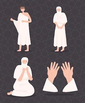 이슬람 사람들의 기도