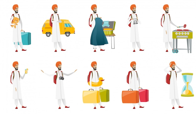 Muslim traveler set