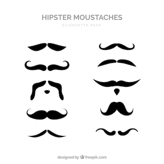 Mustache collection