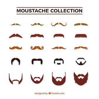 Mustache pack for movember