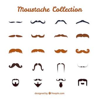 Mustache set for movember