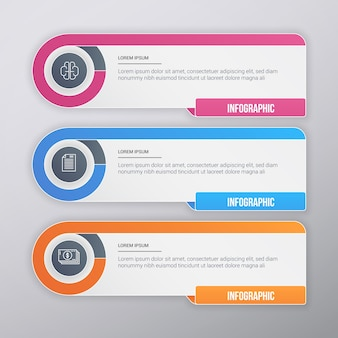 Muticolor Business Infographic Template Design