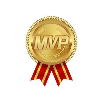 레드 리본으로 mvp 상 금메달