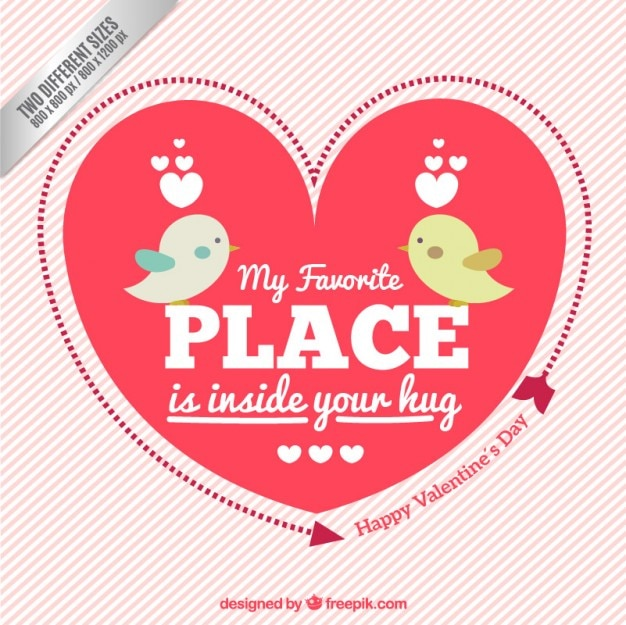 My favorite place is inside you hug, background