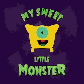 私の甘い小さな黄色の怪物