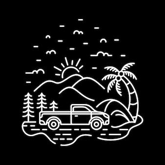 私のトラック私の冒険
