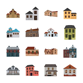 Mystery house icons