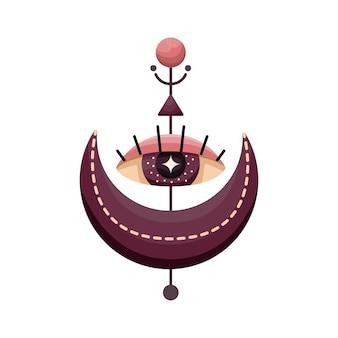 神秘的な占星術のシンボル