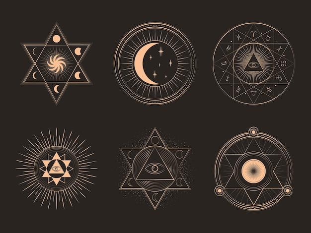 신비로운 마법의 요소