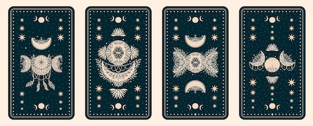 Набор мистических карт таро