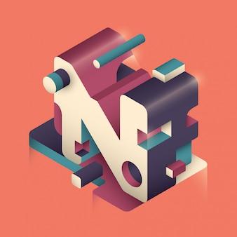 N letter design