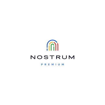 N letter initial logo  icon