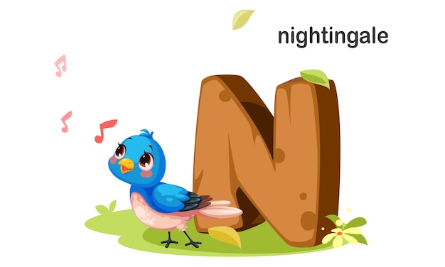 N for nightingale
