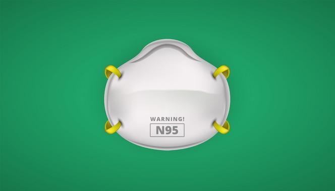 Защитная маска n95 для защиты от коронавирусов
