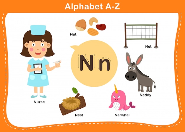 Буква n в алфавите