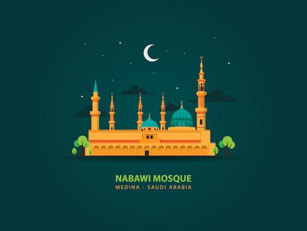 Nabawi mosque, porphet muhammad mosque medina