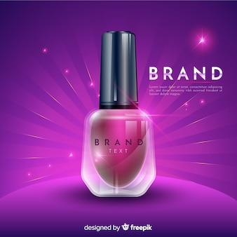 Nail polish ad