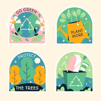 Naive ecology stickers