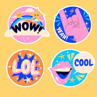 Naive lol stickers collection
