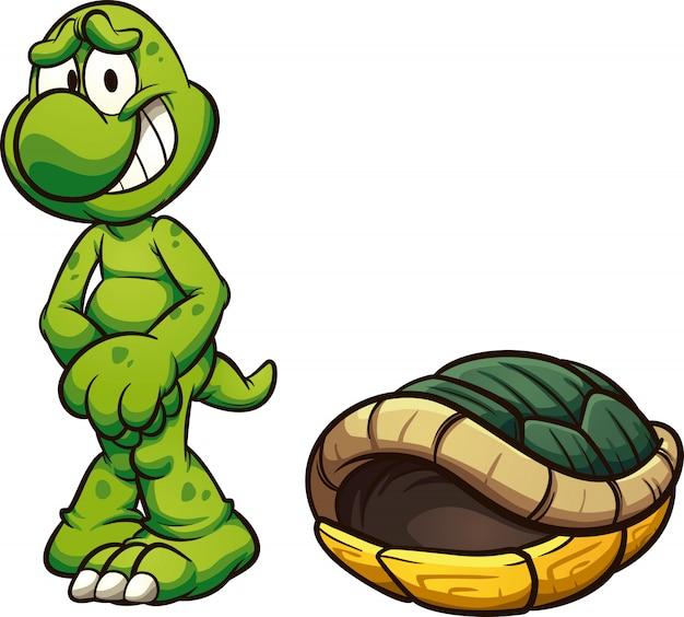 Naked turtle