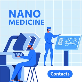 Nano medicine research center presentation banner