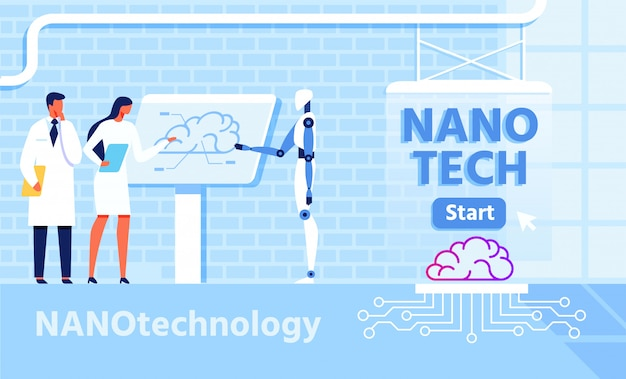 Nano technology for improvement brain functions