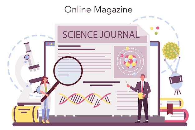 Nanomedic 온라인 서비스 또는 플랫폼 프리미엄 벡터