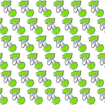 Nappa cabbage vector pattern