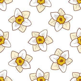 Нарцисс цветок, ручная работа