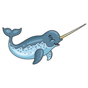 Narwhal cartoon