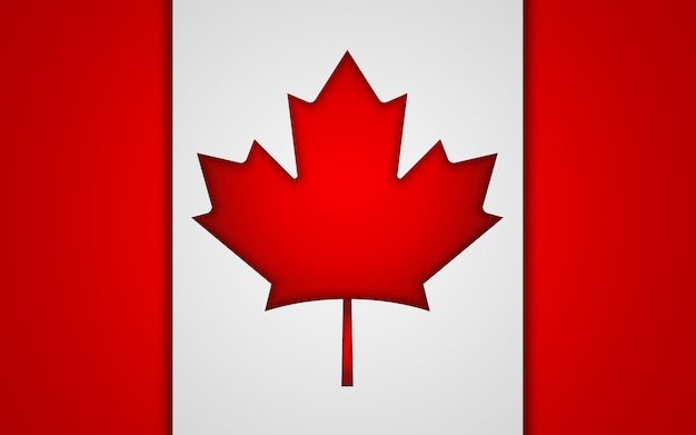 National canada flag.