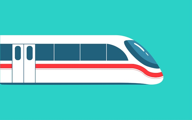 National day holiday departure tourist train illustration highspeed rail spring travel home poster