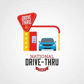 National drive-thru day