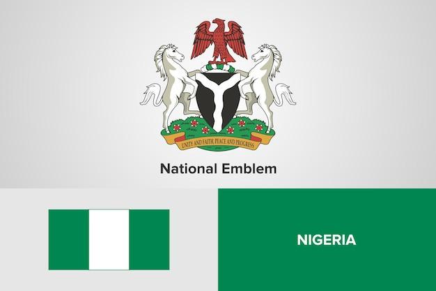 Государственный герб и шаблон флага