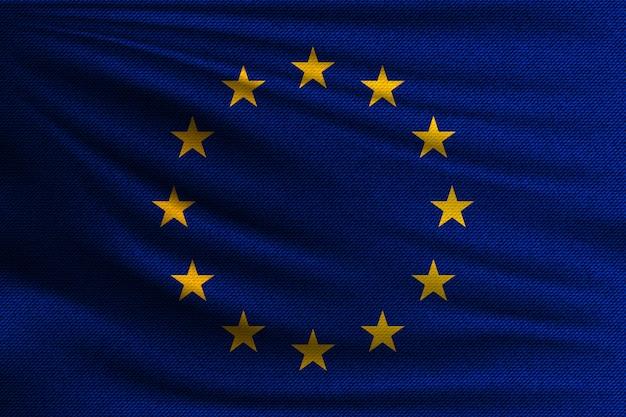 The national flag of european union.