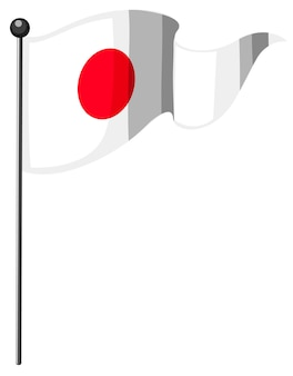 극과 일본의 국기