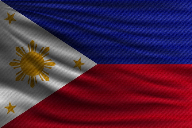 The national flag of philippines.
