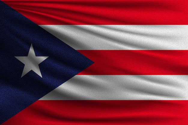 The national flag of puerto rico.