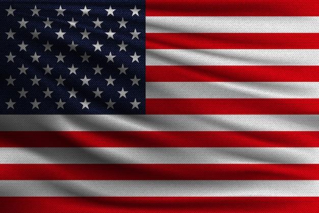 The national flag of usa.