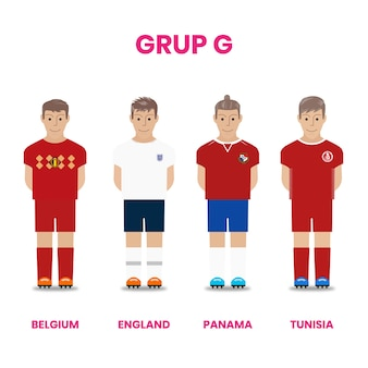 National football team competition in group g
