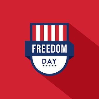 National freedom day illustration