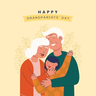 National grandparents' day with grandchild