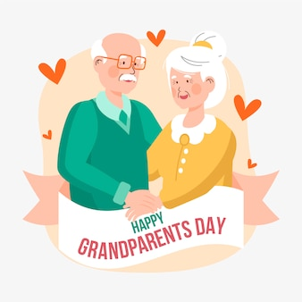 Национальный день бабушки и дедушки с бабушкой и дедушкой