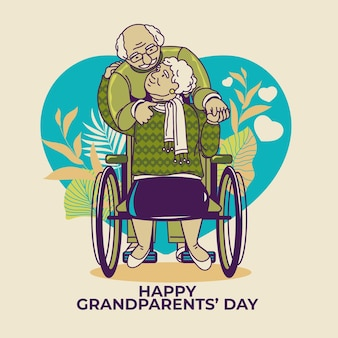 National grandparents' day with older people