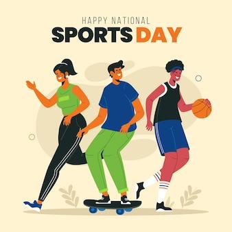 体育の日イラスト