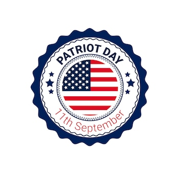 National usa patriot day united states flag banner