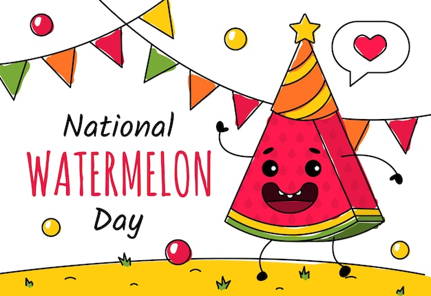 Национальный день арбуза 3 августа