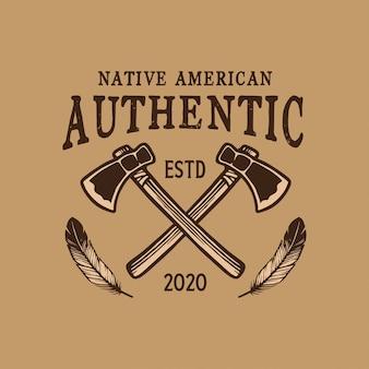 Native american emblem design