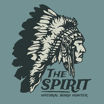 Native american vintage
