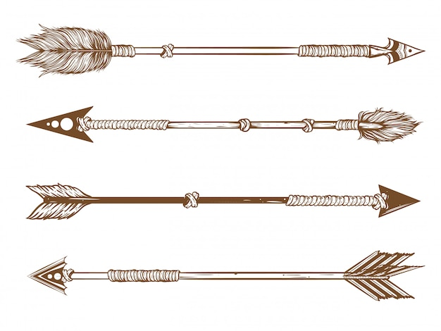 Native arrow set